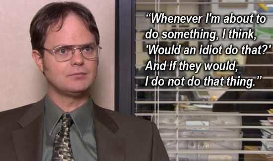 The Office Quotes (NBC) | Season 3 - Business School - Quote